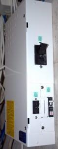 250 A automāts invertora atslēgšanai un slēdži kontroliera atvienošanai